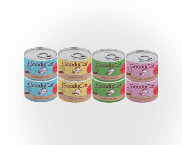 GoodyCat成猫猫罐头180g*8罐 4口味组合装