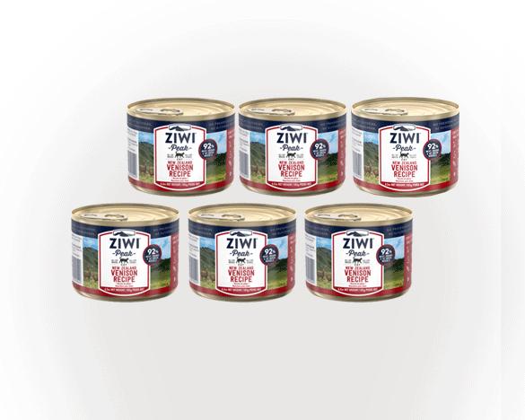 正品标!巅峰鹿肉全猫罐185g*6罐