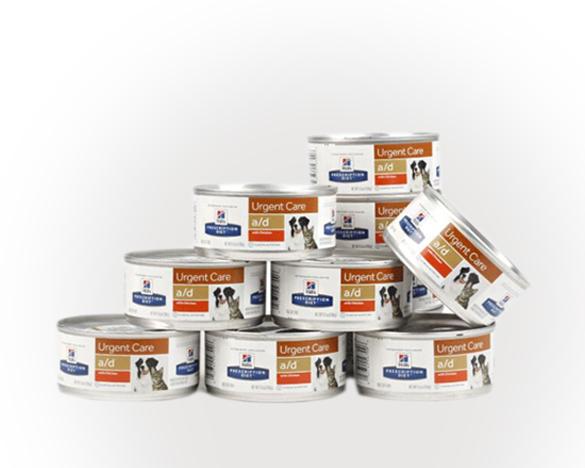 美国原装希尔斯猫犬通用a/d罐156g*24罐20年
