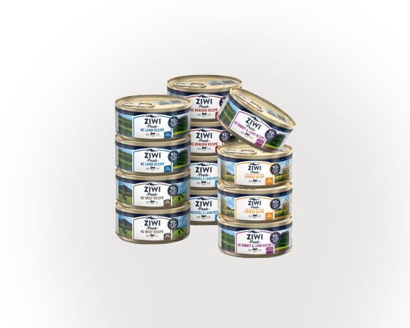 巅峰无谷主食猫罐3口味混合185g*12罐(3口A款)