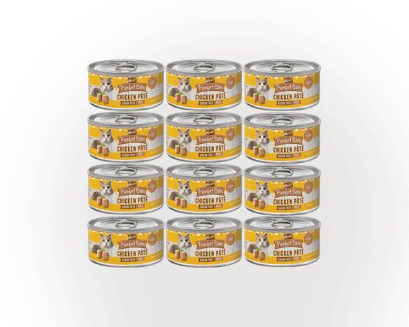 [直接买可用券] 麻利无谷鸡肉猫肉酱罐头156g*12罐装