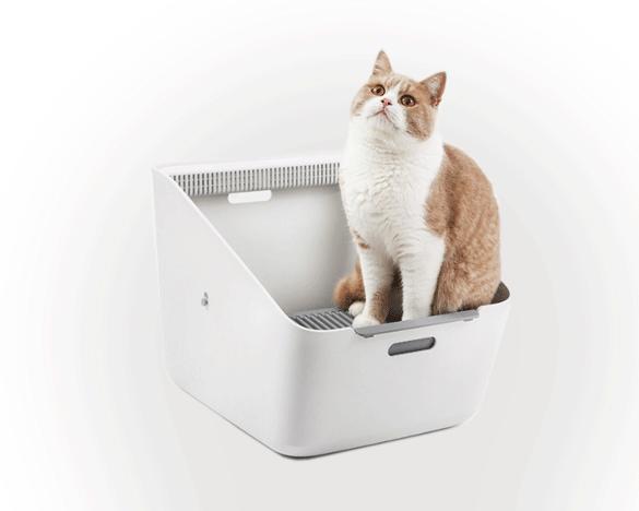 小佩感应式智能猫厕所,半封闭,除臭易清理