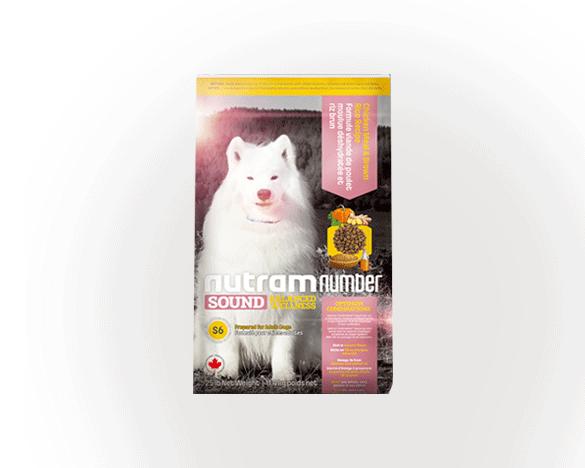[新人3人团]纽顿S6成年期全价犬粮鸡肉糙米50g试用装*2包