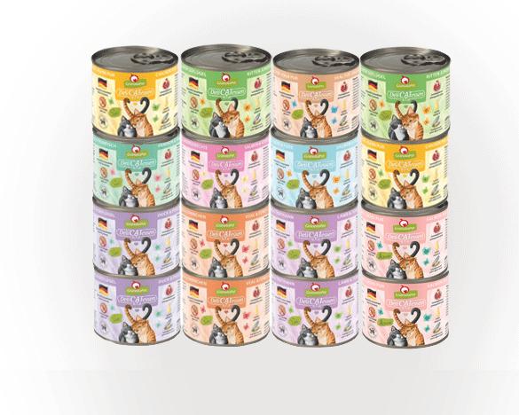德国交响乐白罐Deli系列混合味200g*14罐