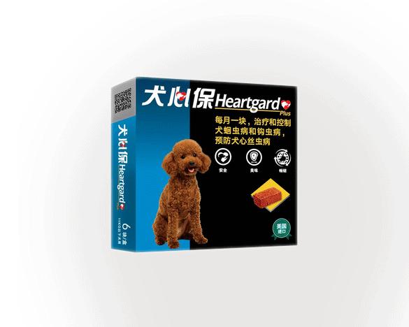福来恩犬心保牛肉块11kg内小型犬体内驱虫药