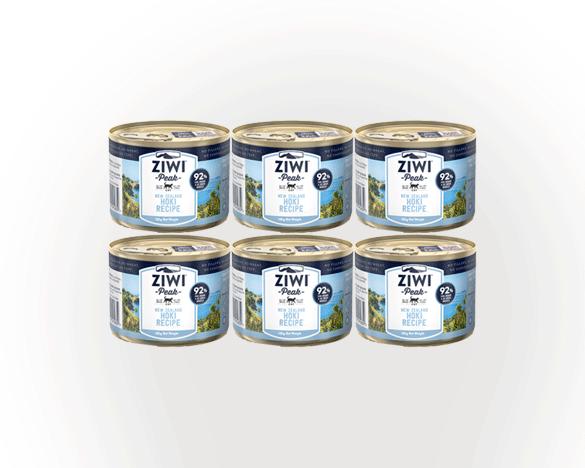 正品标!新西兰巅峰鳕鱼全猫罐185g*6罐