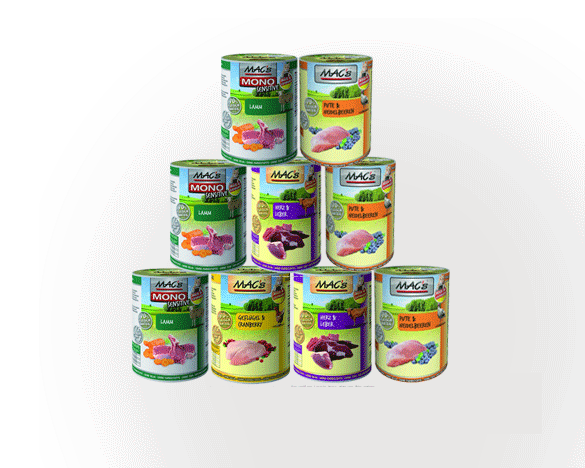[可用券] 德国迈格仕全阶段无谷主食罐400g*9罐,随机组合