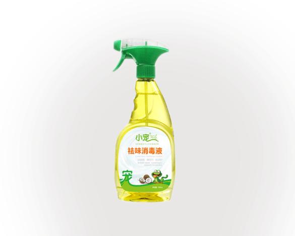 [助攻30次]小宠祛味消毒液500ml,犬猫通用