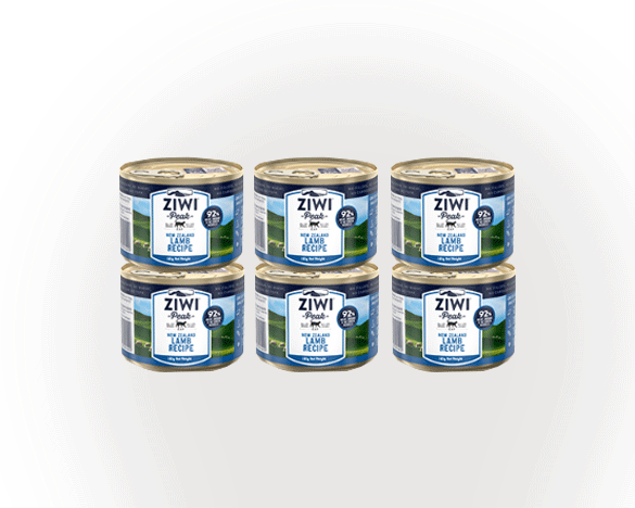 正品标!巅峰羊肉全猫罐185g*6罐组合装