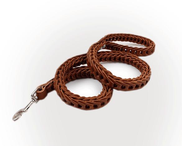 HAWOO哈沃牛皮宠物牵引绳,耐磨耐用