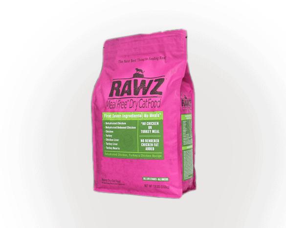 [直接买]正品标美国RAWZ罗斯无谷全猫粮脱水鸡肉火鸡7.8磅