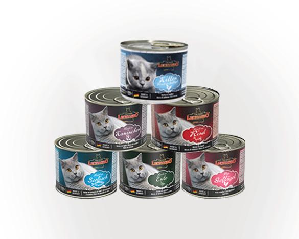 德国小李子全猫主食罐头混合装200g*6罐