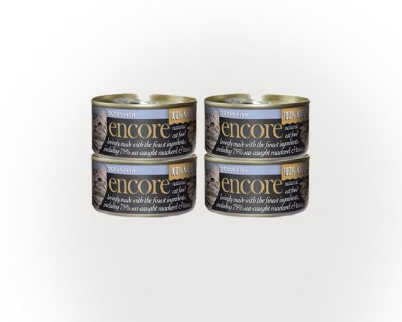 [助攻30次]英国安可全猫罐海鱼口味(70g*4罐)