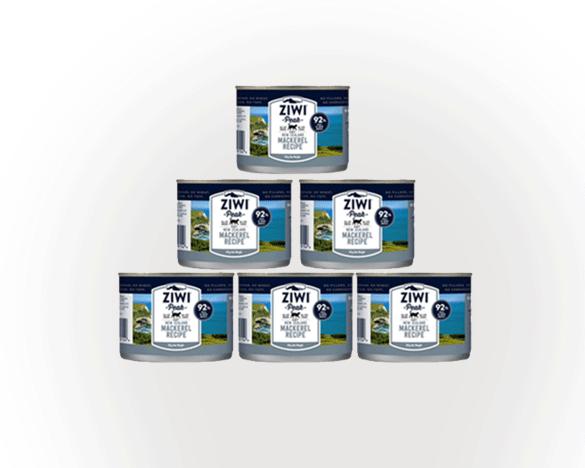 正品标!新西兰巅峰马鲛鱼全猫罐185g*6罐