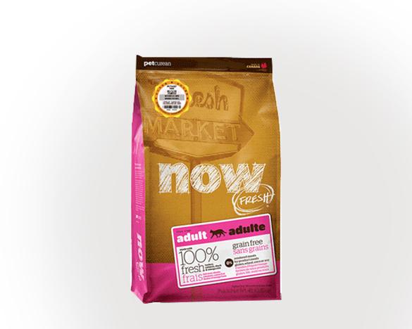 正品无标!加拿大原装进口NOW无谷成猫粮8磅