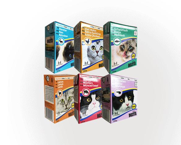 瑞典Bozita猫餐盒全阶段混合装370g*6罐B款