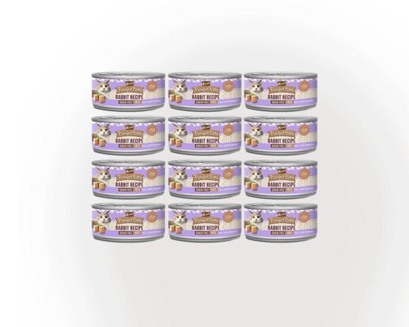 麻利兔肉口味全猫主食罐头156g*12罐