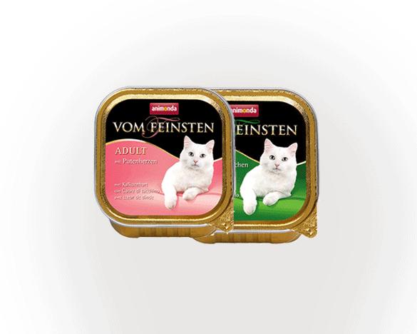 [新人3人团]德国VOM餐盒成猫100g*2盒(口味随机)