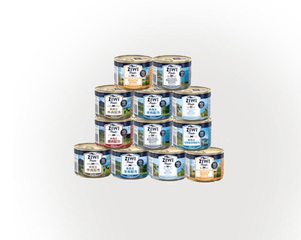 [助攻20次]巅峰无谷主食猫罐6口味混合185g*12罐
