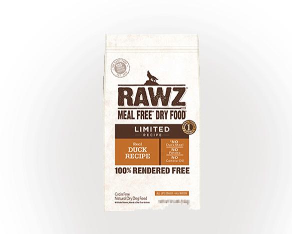 美国RAWZ罗斯低敏无谷全犬粮鸭肉20磅