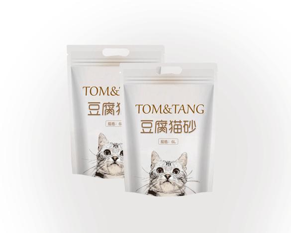 TOM&TANG豆腐猫砂6L*2包