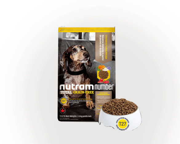正品标纽顿T27小型犬全犬粮6kg(鸡肉&火鸡肉配方)
