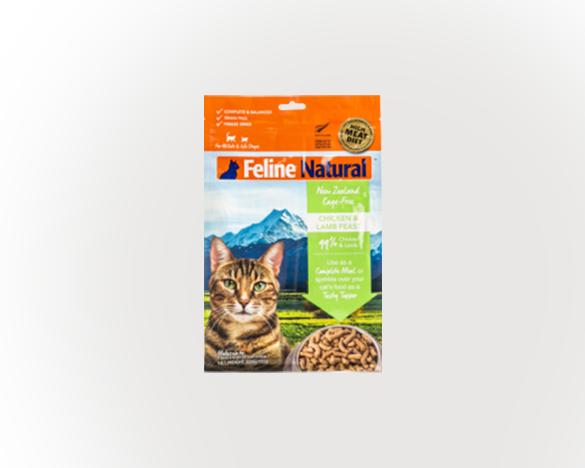 [直接买]正品标!新西兰k9天然主食猫冻干 鸡肉+羊肉口味 320g