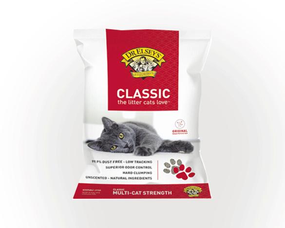 美国进口超硬结团猫砂埃尔西博士40磅(经典红标)
