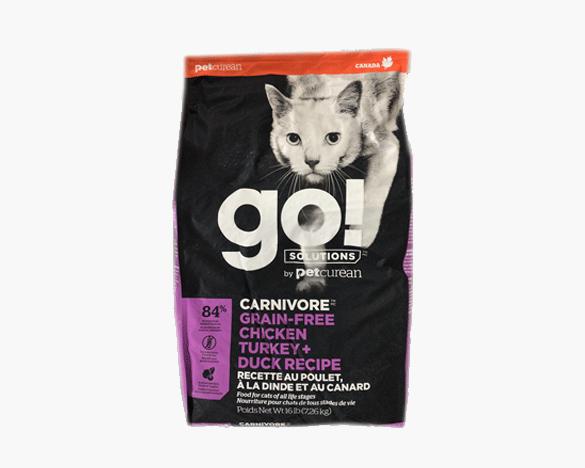 正品无标!GO九种肉无谷全猫粮16磅(8磅*2包)