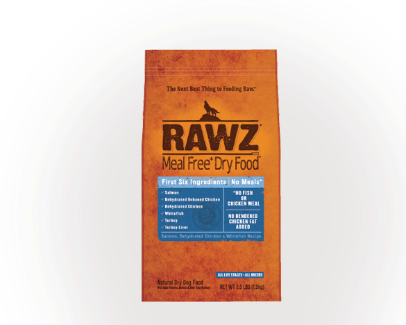 [直接买]正品标!美国RAWZ罗斯无谷脱水鲑鱼六种肉犬粮20磅