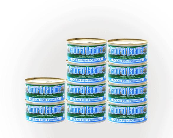 美国雪山全猫主食猫罐156g*10罐(海洋鱼口味)