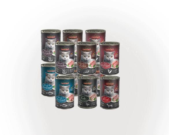 [3人团] 德国小李子全猫罐混合口味400g*12罐组合装