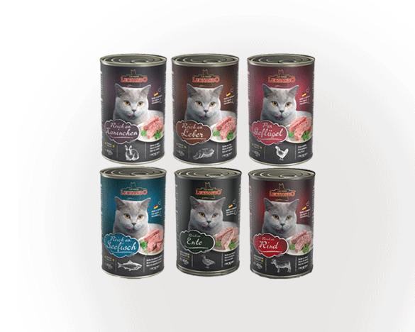 [直接买可用券]德国小李子全猫主食罐头混合装400g*6罐